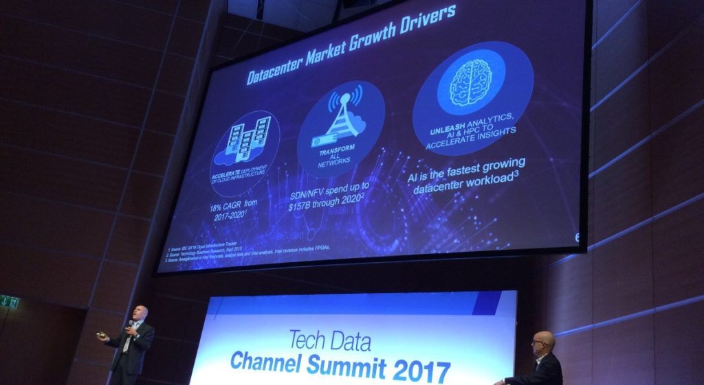 Carmine Stragapede di Intel al Tech Data Summit
