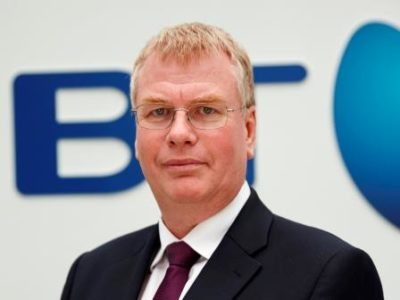 Keith Langridge, vice president network services di BT