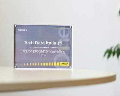 Tech Data premio marketing 2018