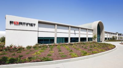 Fortinet headquarters in Sunnyvale